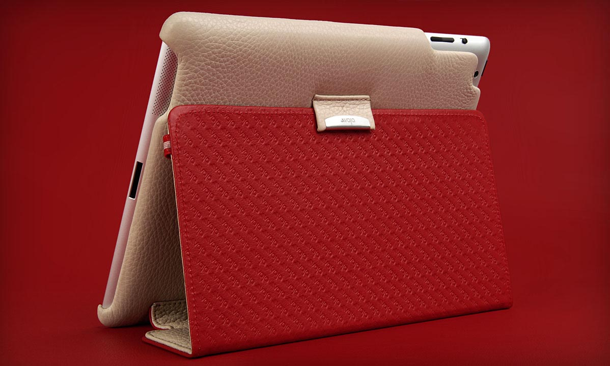 Vaja Agenda Custom iPad 2 Leather Case   Gadgetsin