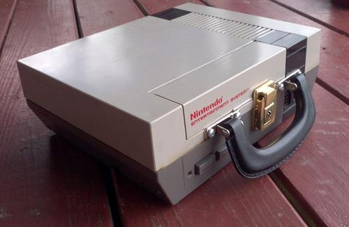 Retro NES Game Console Lunch Box
