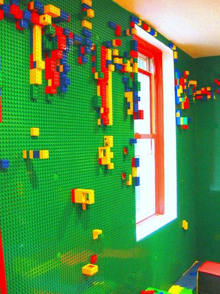 Enjoy Your LEGO Bricks on the Walls