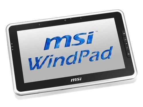MSI WindPad 110W Windows 7 Tablet PC