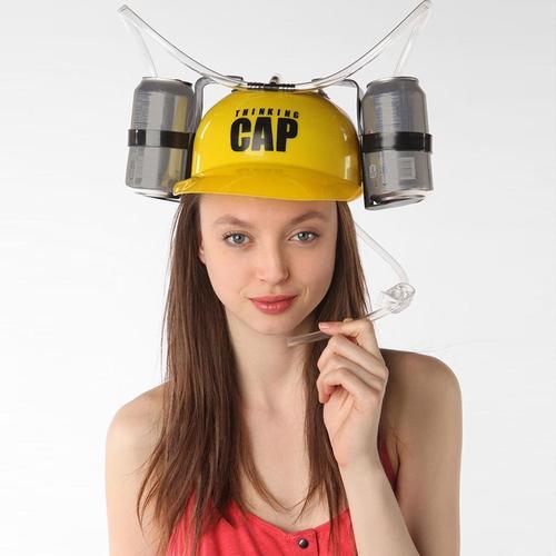 Thinking Cap Drinking Helmet