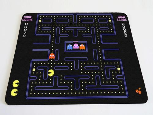 Pacman Themed Mouse Pad