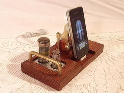 Vintage Handmade Docking Station for iPhone and iPod