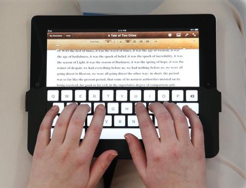iKeyboard for iPad 2 and Original iPad