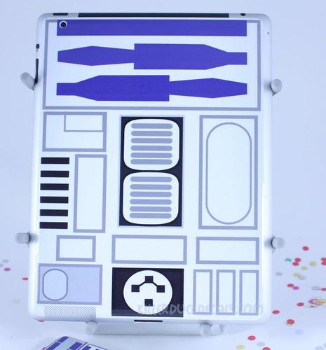 Star Wars R2-D2 iPad 2 Decal