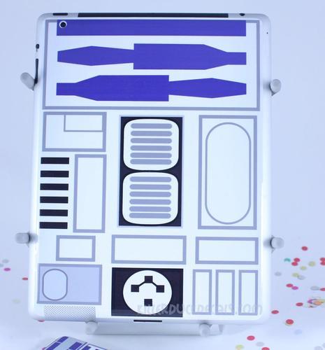 Star Wars R2-D2 iPad 2 Decal