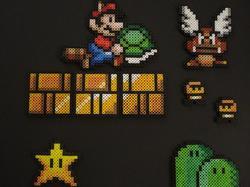 Super Mario Fridge Magnet Set