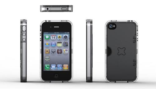 EXOGEAR Exoclear iPhone 4 Case