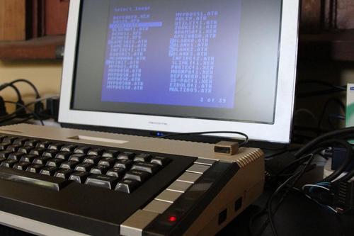 Tiny Atari 810 Disk Drive Shaped MicroSD Card Reader