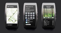 Tima E-Paper Concept Watch Access to Facebook and Twitter
