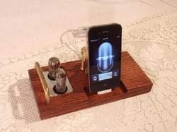 Handmade Vintage Docking Station para iPod e iPhone
