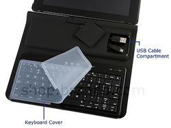 iPad 2 Hardshell Case with Sliding Bluetooth Keyboard