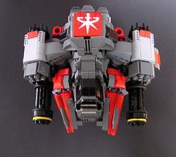 Starcraft 2 Terran Race Units Built with LEGO Bricks
