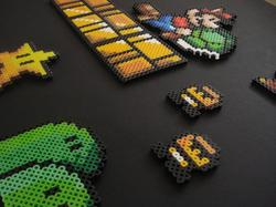 Super Mario Fridge Magnet Set