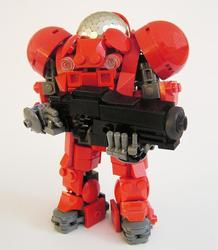 Starcraft 2 Terran Race Units Built with LEGO Bricks