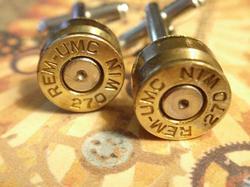 Bullet Shell Cufflinks