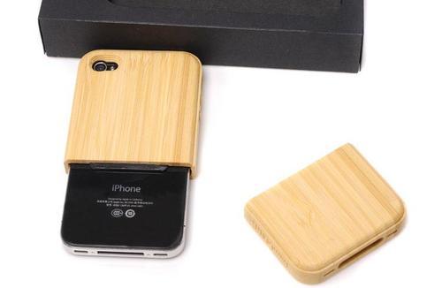 Custom Wooden iPhone 4 Case