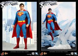 Hot Toys Movie-Accurate Superman Collectible Figure