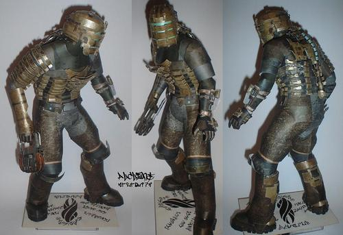 Dead Space Isaac Clarke Paper Craft