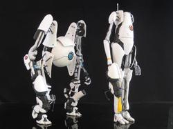 Custom Portal 2 Action Figures