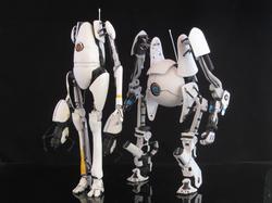 Custom Portal 2 Action Figures