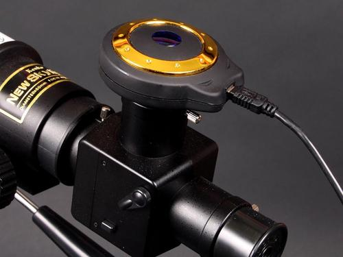Digital Telescope Camera Captures Your Favorite Stars
