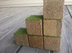 Minecraft Inspired Grass Cube