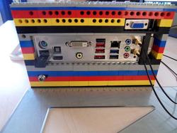Computer Case Made of LEGO Bricks