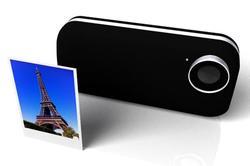 Incredible iPhone 4 Case with Polaroid Printer