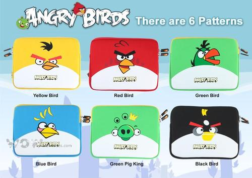 Angry Birds Protective Sleeve for iPad 2 and Original iPad