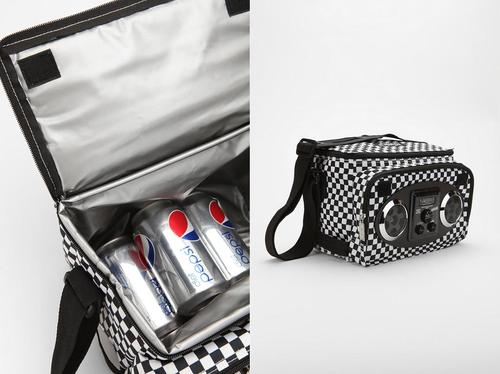 Drink Cooler with Portable Speaker