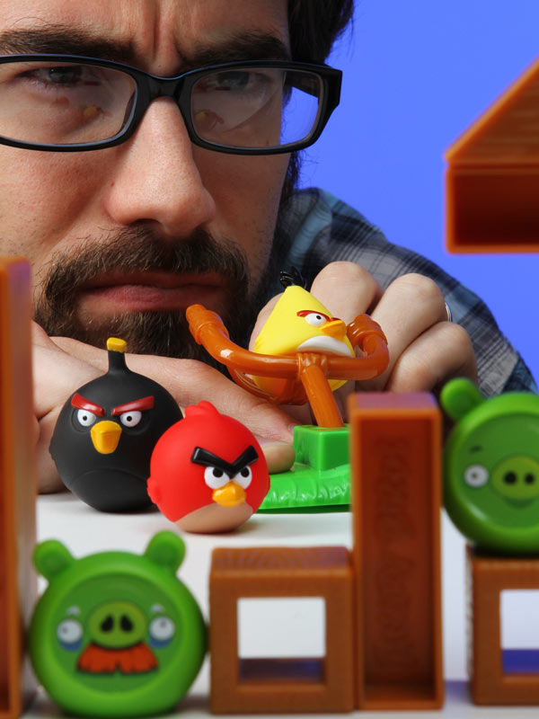 Build Angry Birds Game