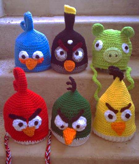 Angry Birds Crochet Hat Patterns
