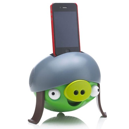 Angry Birds Themed Dock Speaker and iPad Stand Unveiled