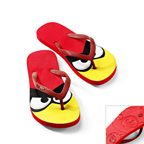 Angry Birds Themed Flip Flops