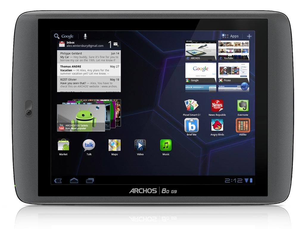 Tags: Android 3.1 , Android tablet , ARCHOS , Google Android