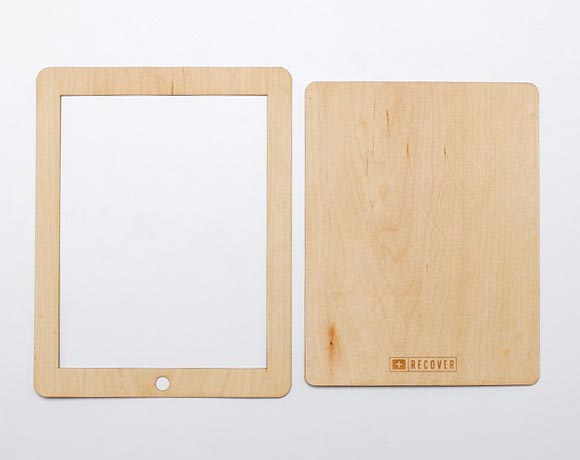 Eco-Friendly Wooden iPad Skin