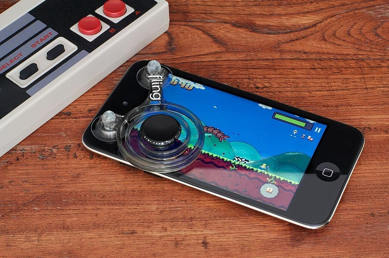 Fling Mini Game Controller Kit For Iphone Ipod Touch And