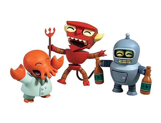 Futurama Mini Figure Set