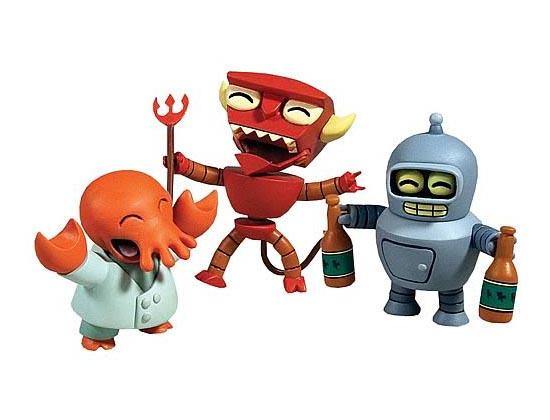 Futurama Mini Figure Set
