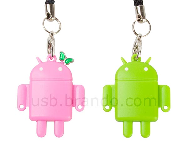Google Android Styled microSDHC Card Reader