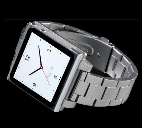 HEX Vision Metal iPod Nano 6G Watch Band