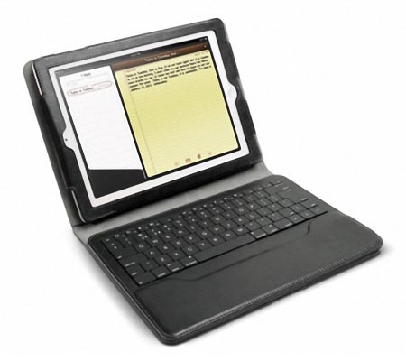 iLuv Professional iPad 2 Case with Detachable Bluetooth Keyboard