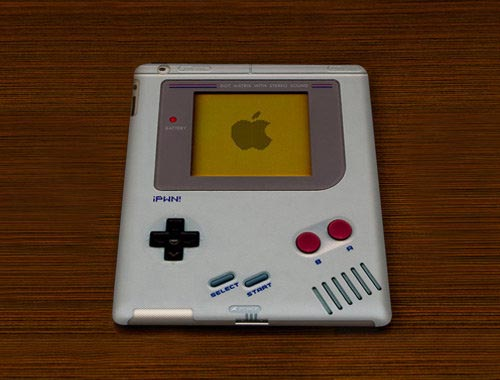 iPWN! Game Boy iPad 2 Case