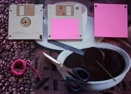 Make Your Own Floppy Disk Notebook