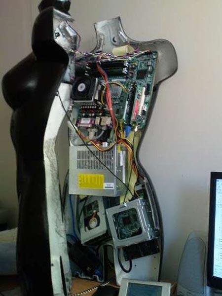 Mannequin Computer Case Mod