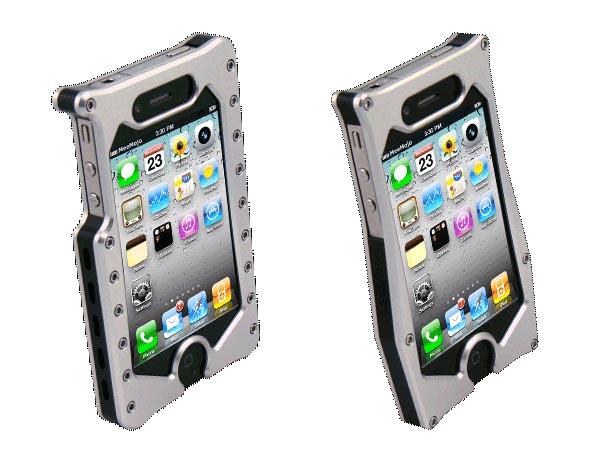 quality design 2e882 eaf6f MeeMojo Aluminum iPhone 4 Case | Gadgetsin