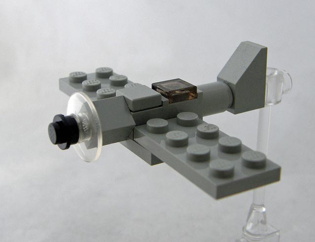 how to make a micro lego sword fish