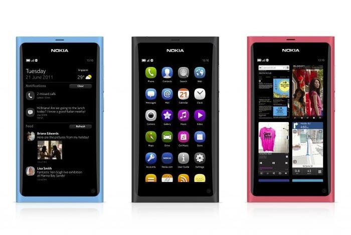 Nokia Announced MeeGo Smart Phone N9