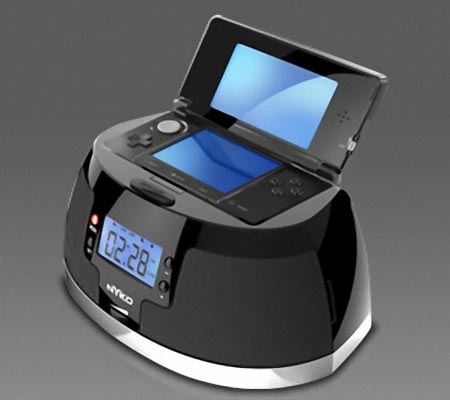 Nyko Play Clock Dock Speaker for Nintendo 3DS